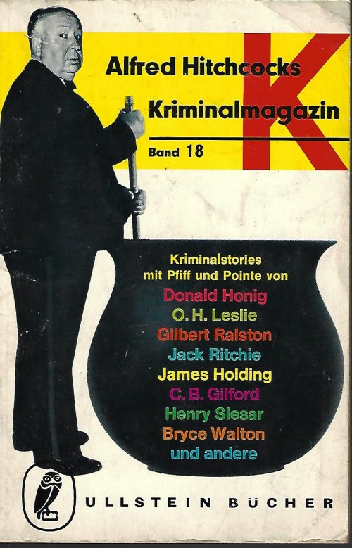 Image for ALFRED HITCHCOCKS KRIMINALMAGAZIN Band 18, 1966