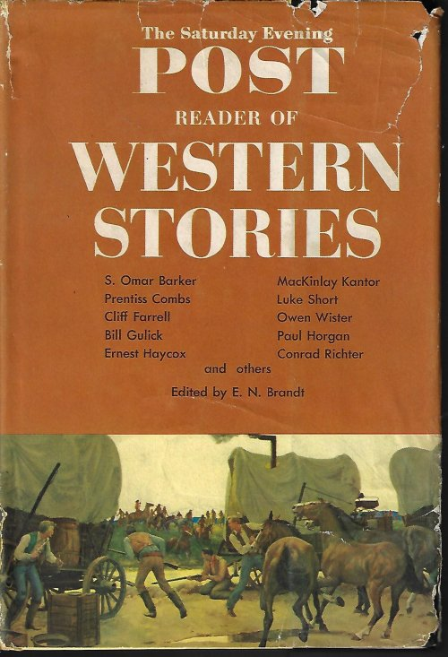 Image for The Saturday Evening POST READER OF WESTERN STORIES