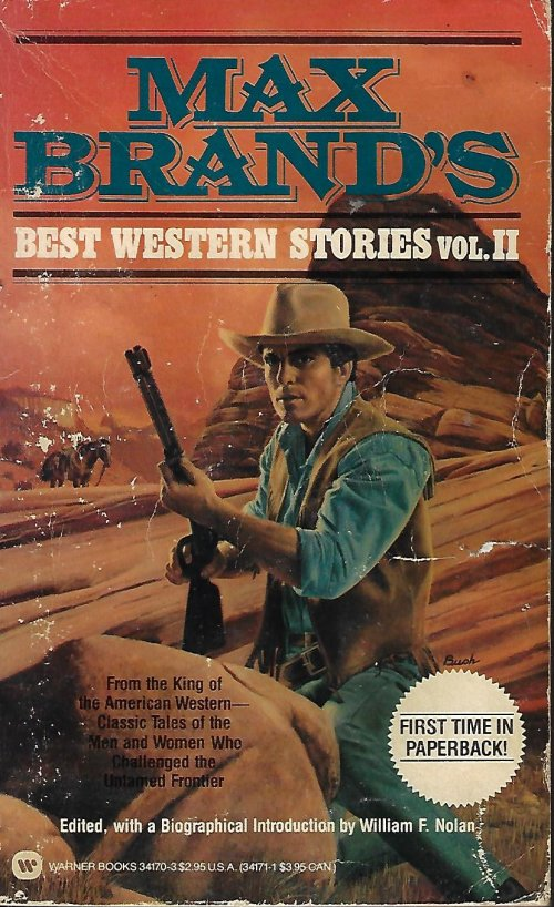 Image for MAX BRAND'S BEST WESTERN STORIES Vol. II