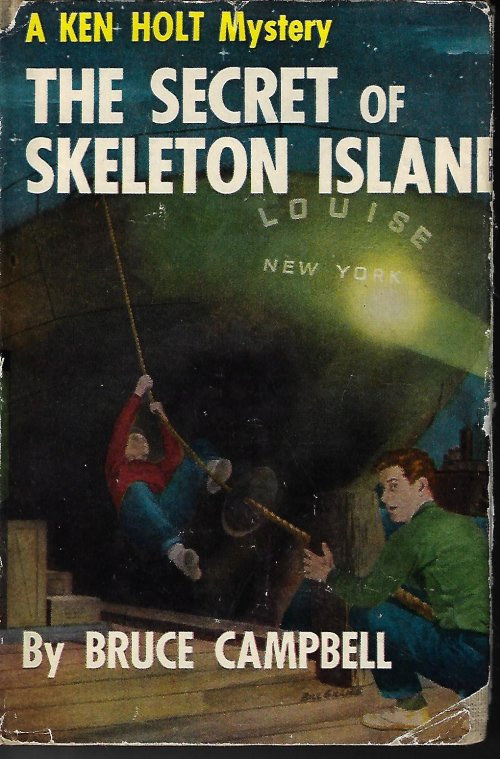 Image for THE SECRET OF SKELETON ISLAND; A Ken Holt Mystery