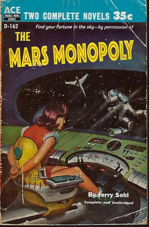Image for THE MAN WHO LIVED FOREVER / THE MARS MONOPOLY