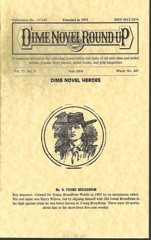 Image for DIME NOVEL ROUND-UP: June 2004