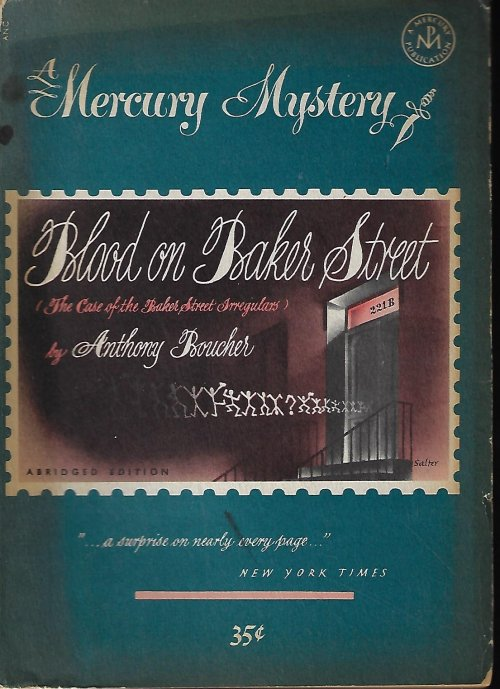 Image for BLOOD ON BAKER STREET: Mercury Mystery No. 179