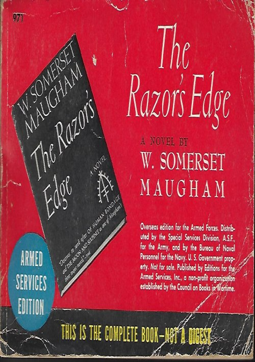 Image for THE RAZOR'S EDGE