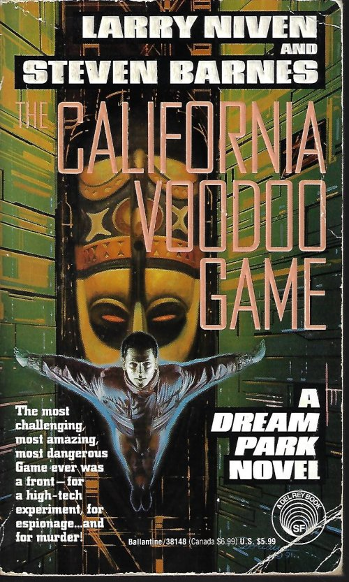 Image for THE CALIFORNIA VOODOO GAME; A Dream Park Novel