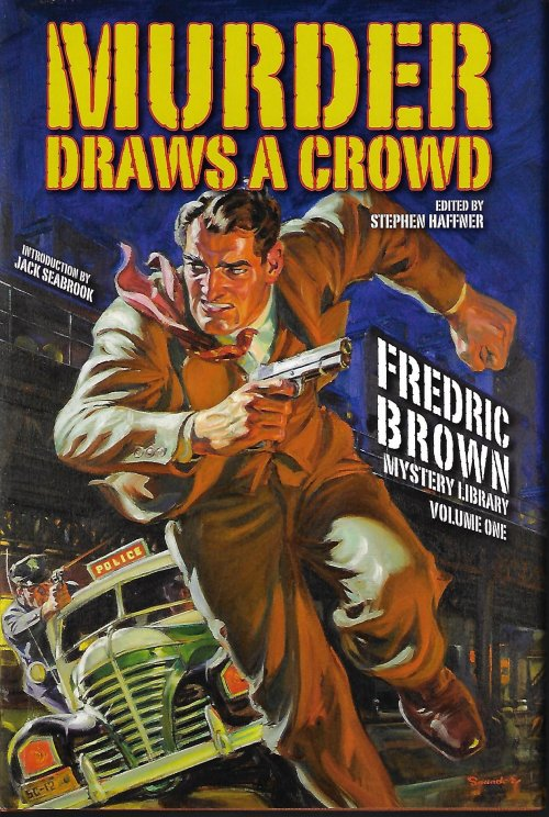 Image for MURDER DRAWS A CROWD; Fredric Brown Mystery Library Volume One