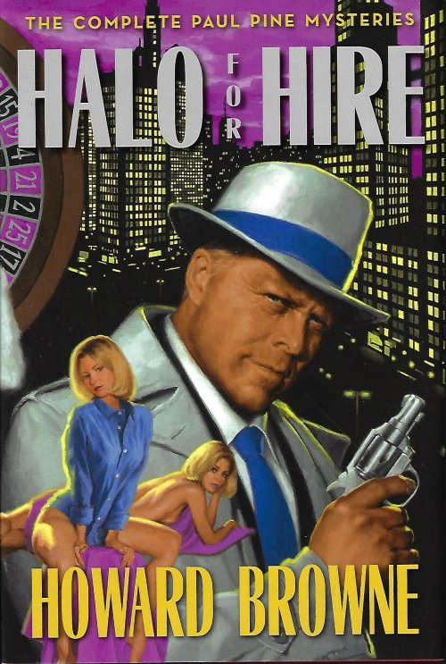 Image for HALO FOR HIRE; THE COMPLETE PAUL PINE MYSTERIES