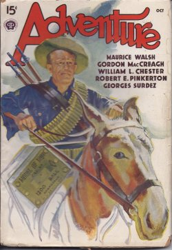 "Image for ADVENTURE: October, Oct. 1938 (""Blackcock's Feather"")"