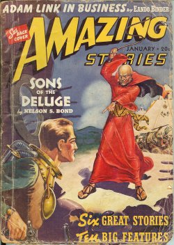 Image for AMAZING Stories: January, Jan. 1940