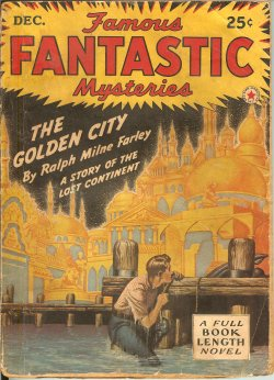 "Image for FAMOUS FANTASTIC MYSTERIES: December, Dec. 1942 ( ""The Golden City"" )"