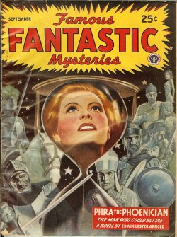 "Image for FAMOUS FANTASTIC MYSTERIES: September, Sept. 1945 (""Phra the Phoenician"")"