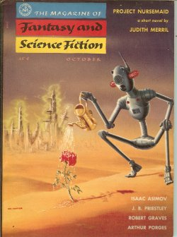 Image for The Magazine of FANTASY AND SCIENCE FICTION (F&SF): October, Oct. 1955