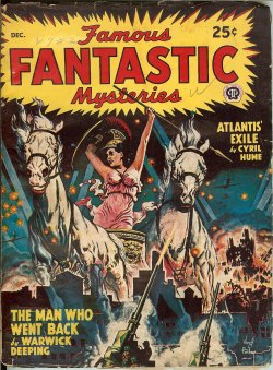 "Image for FAMOUS FANTASTIC MYSTERIES: December, Dec. 1947 (""The Man Who Went Back"")"