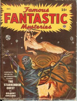 "Image for FAMOUS FANTASTIC MYSTERIES: October, Oct. 1949 (""The Starkenden Quest"")"
