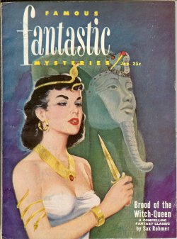 "Image for FAMOUS FANTASTIC MYSTERIES: January, Jan. 1951 (""Brood of the Witch-Queen"")"