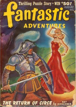 Image for FANTASTIC ADVENTURES: August, Aug. 1941