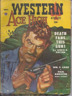 Image for WESTERN ACE HIGH Stories: September, Sept. 1954