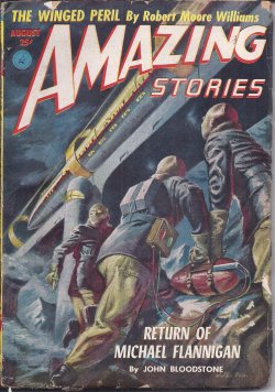 Image for AMAZING Stories: August, Aug. 1952