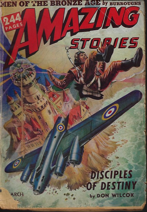 Image for AMAZING Stories: March, Mar. 1942