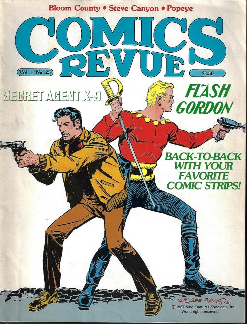 Image for COMICS REVUE #25, 1988 (Flash Gordon; Bloom County; Secret Agent Corrigan; more)