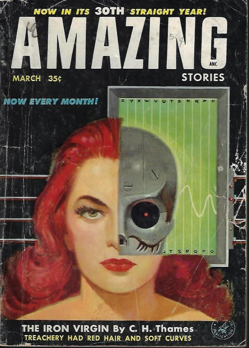 Image for AMAZING Stories: March, Mar. 1956