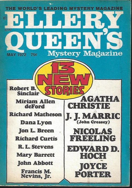 Image for ELLERY QUEEN'S Mystery Magazine: May 1972