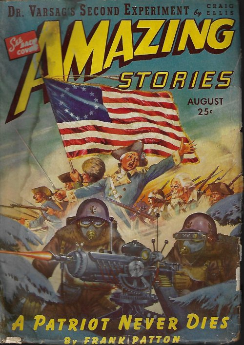 Image for AMAZING Stories: August, Aug. 1943