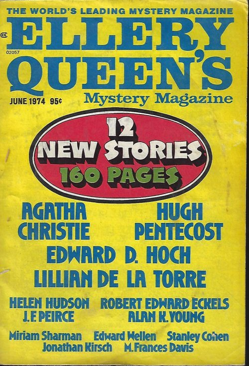 Image for ELLERY QUEEN'S Mystery Magazine: June 1974