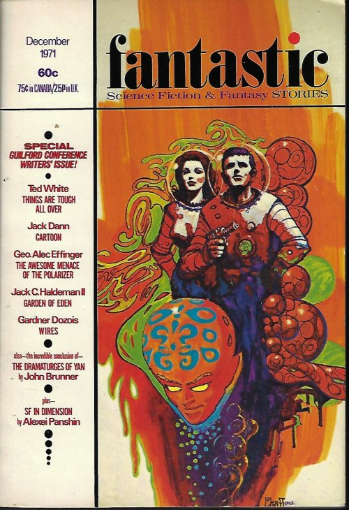 "Image for FANTASTIC Stories: December, Dec. 1971 (""The Dramaturges of Yan"")"