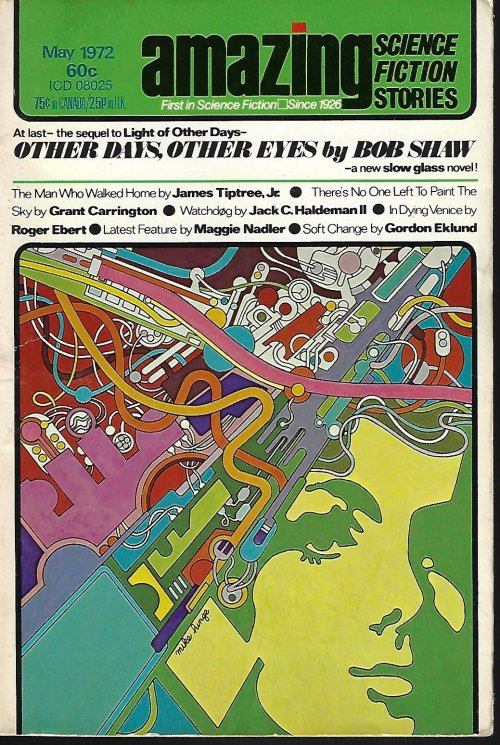 "Image for AMAZING Stories: May 1972 (""Other Days, Other Eyes"")"