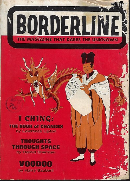 Image for BORDERLINE The Magazine That Dares the Unknown: July 1965