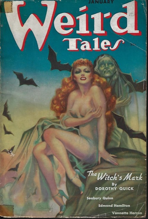 "Image for WEIRD TALES: January, Jan. 1938 (""Roads"")"