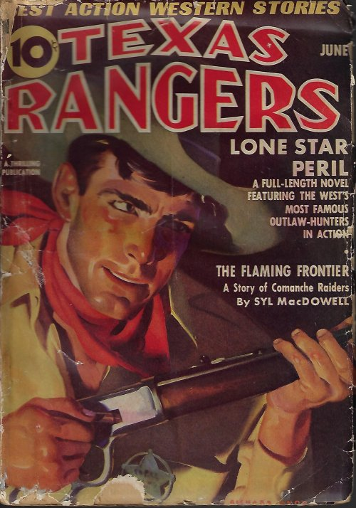 "Image for TEXAS RANGERS: June 1938 (""Lone Star Peril"")"