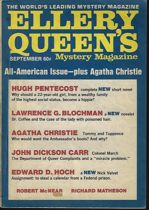 Image for ELLERY QUEEN'S Mystery Magazine: April, Apr. 1970