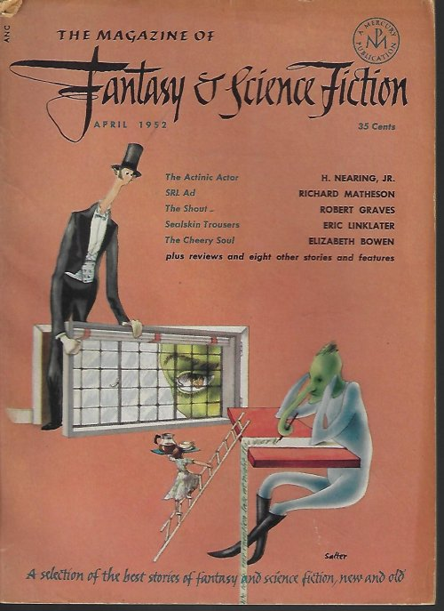 Image for The Magazine of FANTASY AND SCIENCE FICTION (F&SF): April, Apr. 1952