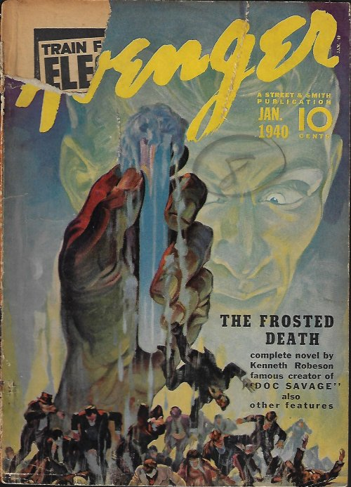 "Image for THE AVENGER: January, Jan. 1940 (""The Frosted Death"")"
