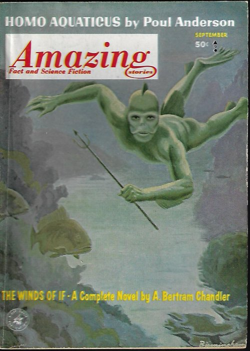 Image for AMAZING Stories: September, Sept. 1963