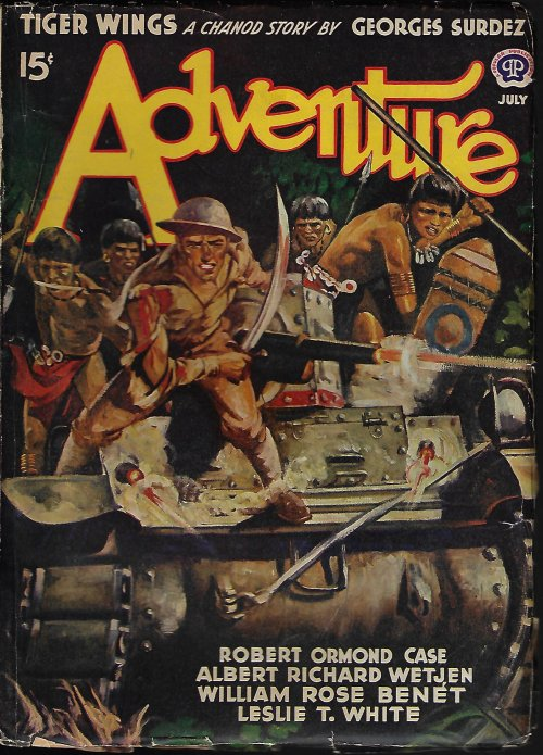 Image for ADVENTURE: July 1942