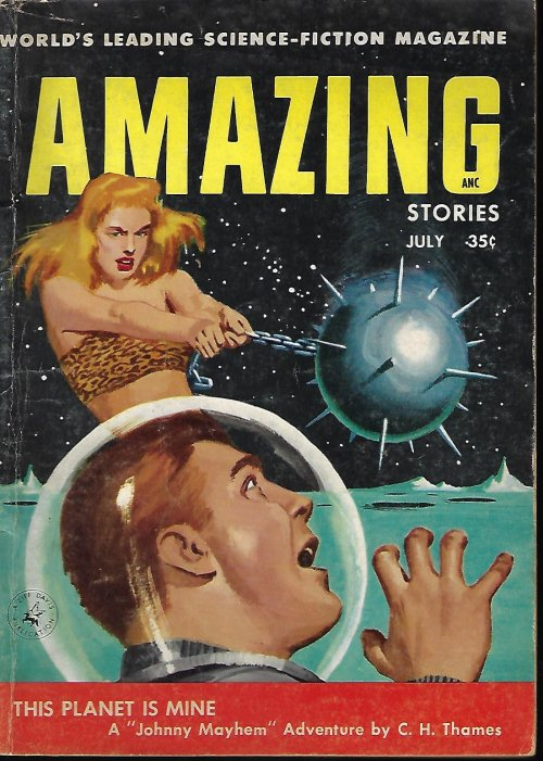 Image for AMAZING Stories: July 1956