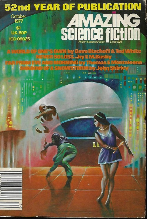 Image for AMAZING Science Fiction: October, Oct. 1977