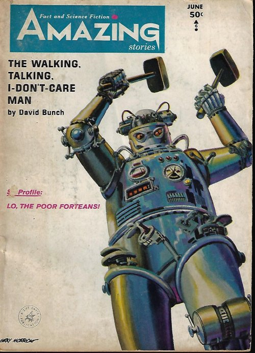 "Image for AMAZING Stories: June 1965 (""The Corridors of Time"")"