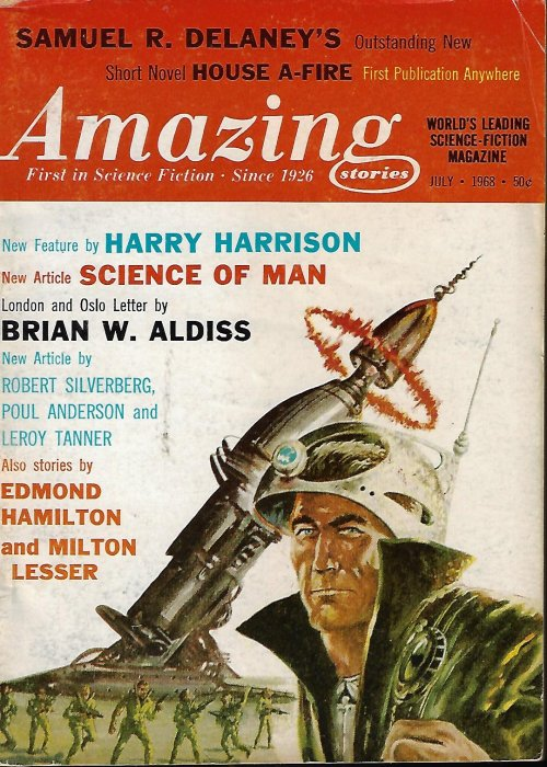 Image for AMAZING Stories: July 1968
