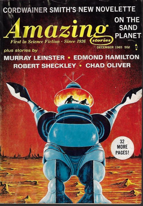 Image for AMAZING Stories: December, Dec. 1965