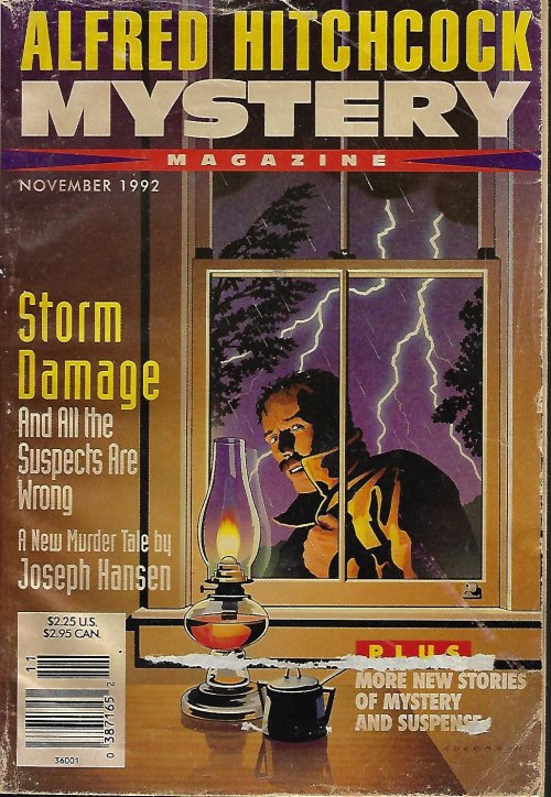 Image for ALFRED HITCHCOCK Mystery Magazine: November, Nov. 1992