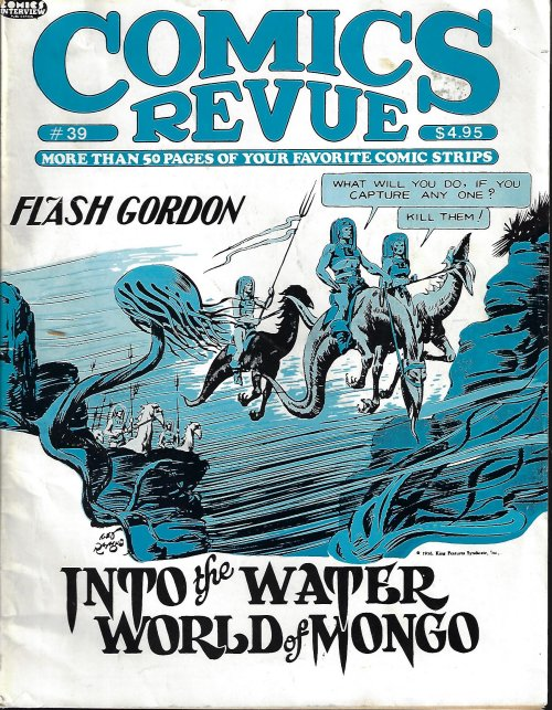 Image for COMICS REVUE #39, 1989 (Flash Gordon; Bloom County; Steve Canyon; more)