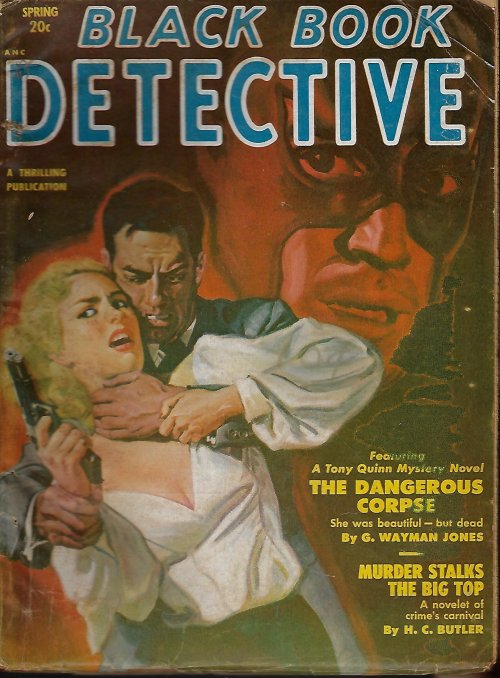 Image for BLACK BOOK DETECTIVE Magazine: Spring 1951