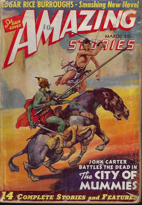 Image for AMAZING Stories: March, Mar. 1941
