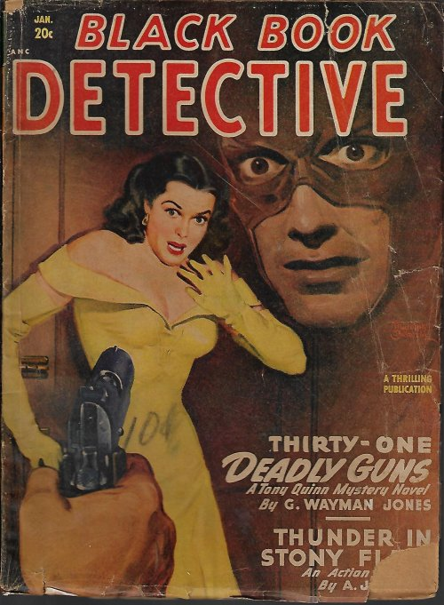 Image for BLACK BOOK DETECTIVE Magazine: January, Jan. 1949