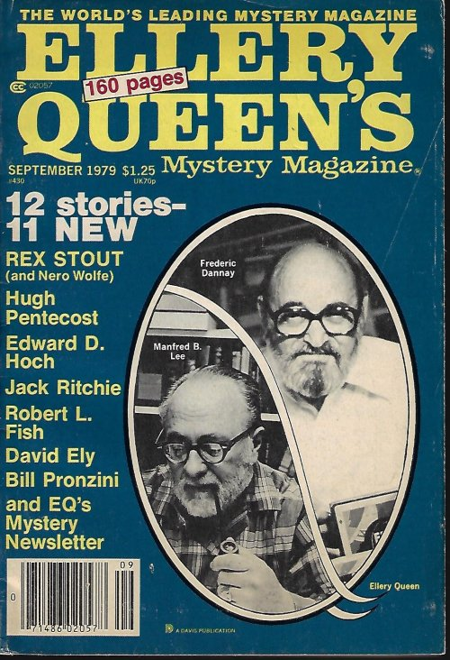 Image for ELLERY QUEEN'S Mystery Magazine: September, Sept. 1979