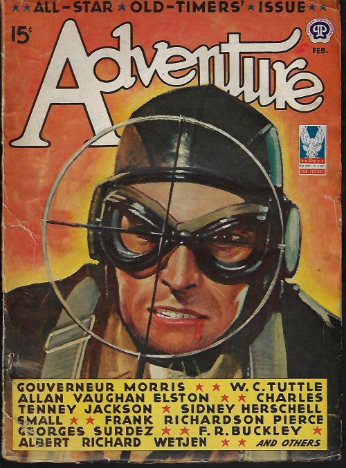 Image for ADVENTURE: February, Feb. 1943
